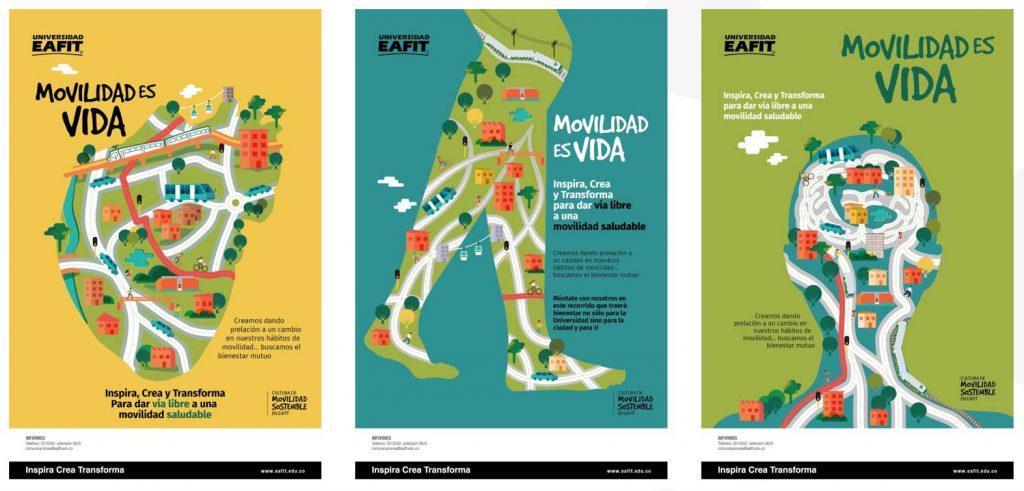 Movilidad es vida EAFIT
