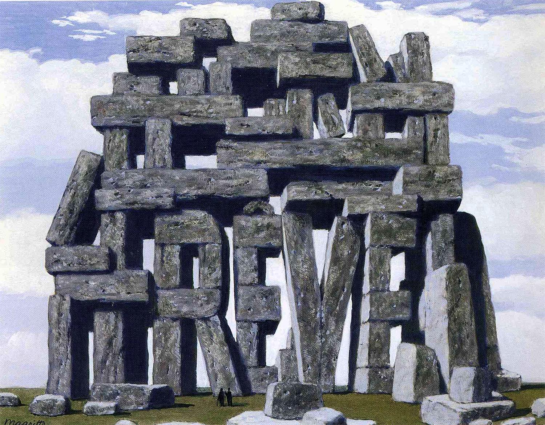 El arte de la conversación - René Magritte